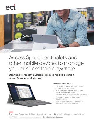 Spruce Surface Pro Mobility Solution Brief