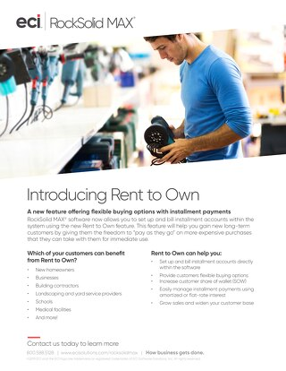 RockSolid MAX Rent To Own Solution Brief