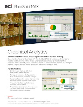 RockSolid MAX Graphical Analytics Solution Brief