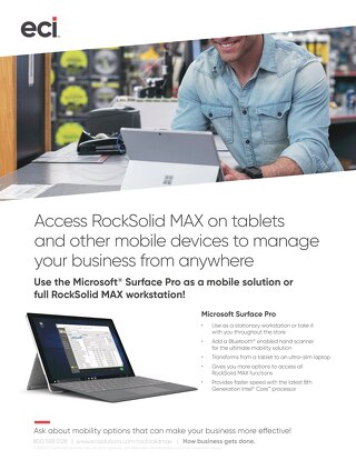 RockSolid MAX Mobility Surface Pro