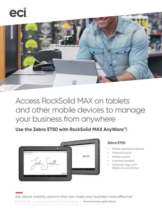 RockSolid MAX Mobility Zebra ET50