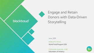 Data Driven Storytelling