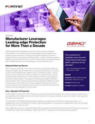 Manufacturer Leverages Leading-Edge Protection For More Than A Decade