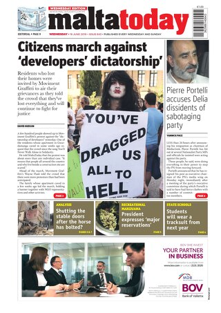 MALTATODAY 19 June 2019