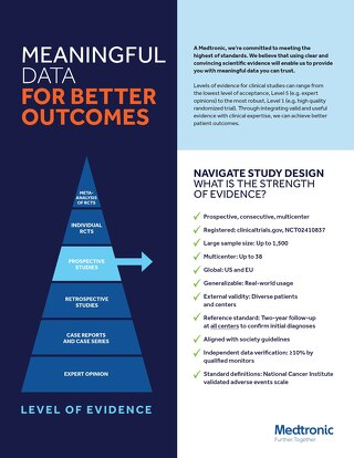 NAVIGATE Study Design: What is the strength of evidence?