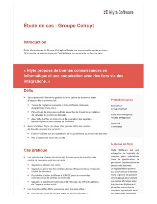 Colruyt Group Case Study (French)