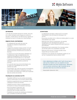 Large Bank Case Study (French)