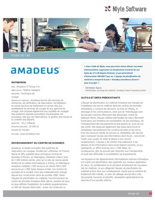 Amadeus Case Study (French)