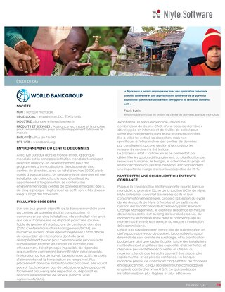 World Bank Case Study (French)