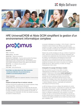 Proximus Case Study (French)