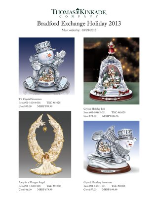 Bradford Exchange Holiday Catalog