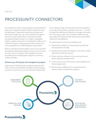 ProcessUnity Connector Overview