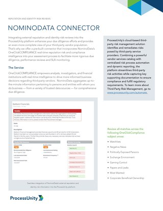 NominoData Connnector
