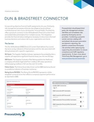 Dun and Bradstreet Connector