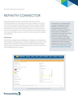 Refinitiv Connector