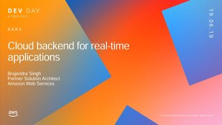 Building real-time backends for your applications - Utrecht Dev Day