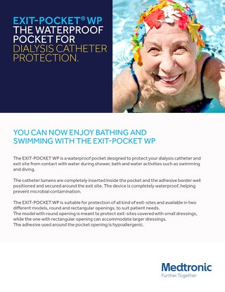 NOW ENJOY BATHING AND SWIMMING WITH THE EXIT-POCKET WP