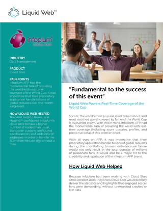"""Fundamental to the success of this event"" - Infoplum Case Study"