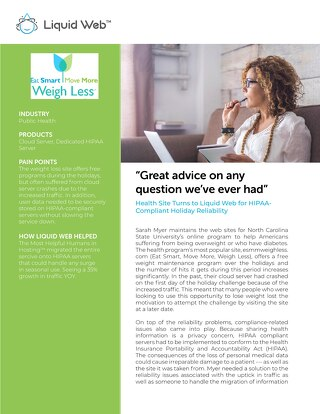 """Great advice on any question we've ever had"" - Weigh Less Case Study"