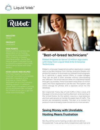 """Best-of-breed technicians"" - Ribbet Case Study"
