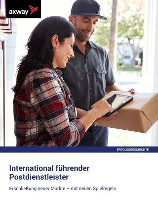 International führender  Postdienstleister
