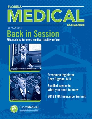 Florida Medical Magazine Q1 2013