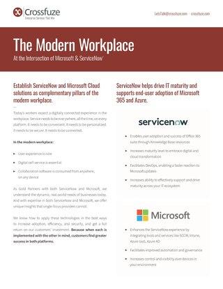 Microsoft-ServiceNow SellSheet