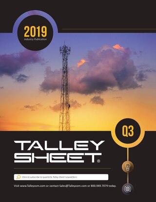 Q3 Talley Sheet 2019