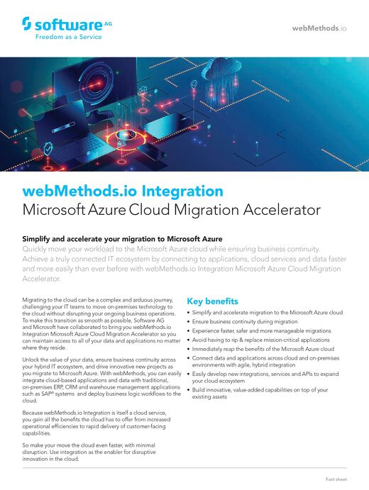 webMethods.io Integration