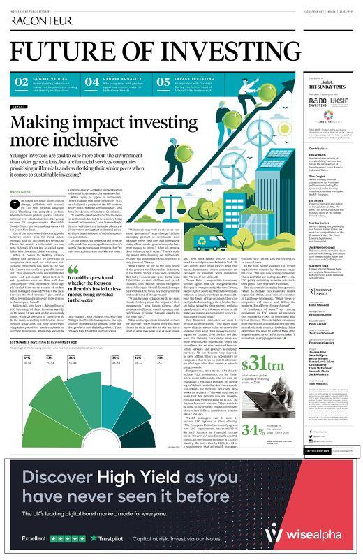 Future of Investing 2019