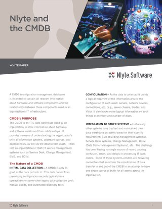 CMDB and Nlyte Together