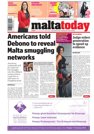 MALTATODAY 21 July 2019