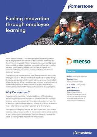 Case Study - Metso