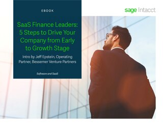 SaaS Finance Leaders: 5 Steps to Drive Your Company from Early to Growth Stage