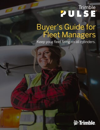 Trimble PULSE Telematics Buyer's Guide for Fleet Managers