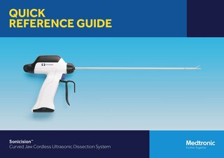 Sonicision™ Curved Jaw Cordless Ultrasonic Dissection System