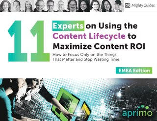 MightyGuides: 11 Experts on Using the Content Lifecycle EMEA Edition