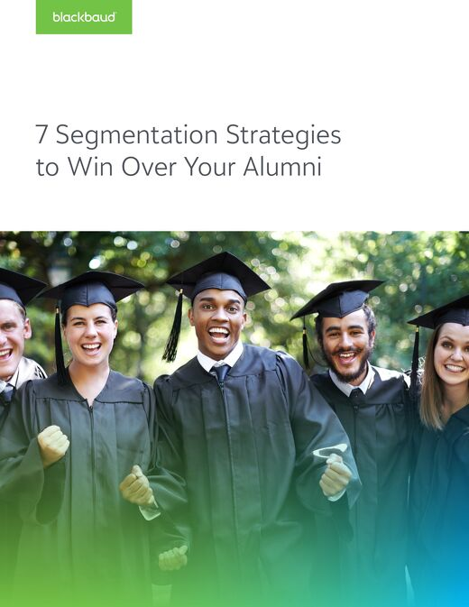 Blackbaud - Alumni Segmentation Strategies