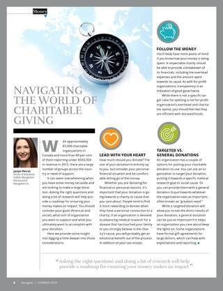 Navigating the world of charitable giving