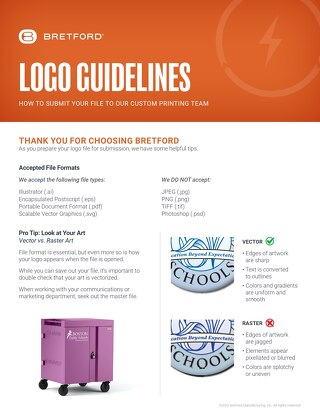 Custom Logo Guidelines