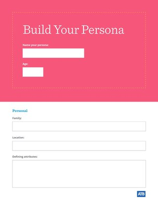 ATB Customer Persona Template