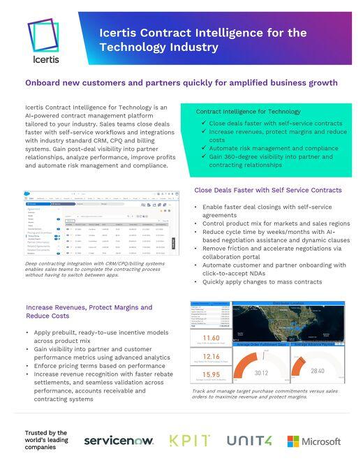 Enterprise Contract Management for Technology
