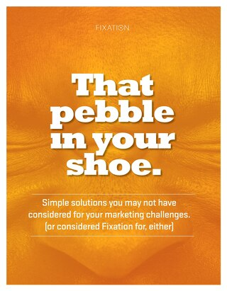 That pebble in your shoe.
