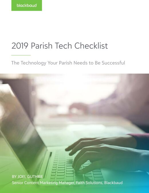 2019 Parish Tech Checklist