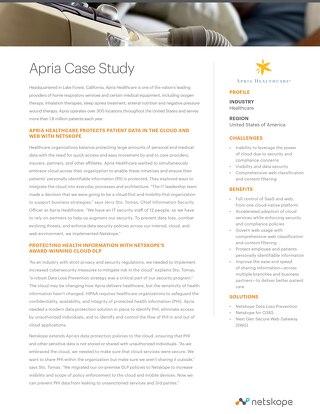 Apria Case Study