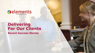 Client Success Stories: Elements Financial