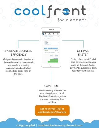 Coolfront for Cleaners One-Pager