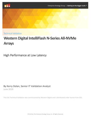 ESG Technical Validation of IntelliFlash N-Series