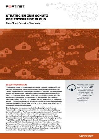 Strategien zum schutz der enterprise Cloud