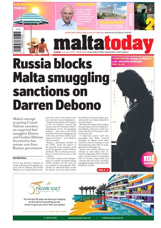 MALTATODAY 14 July 2019